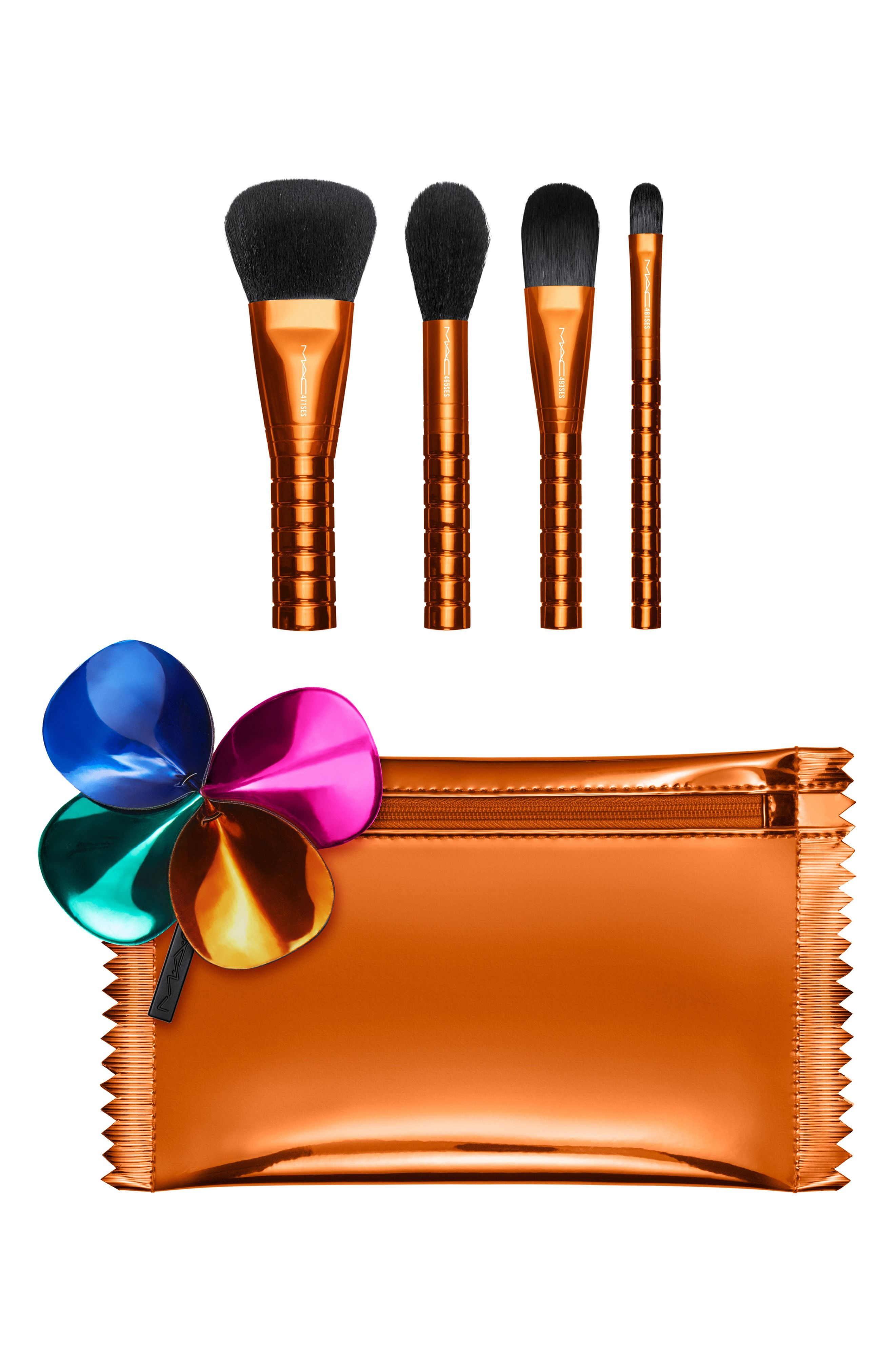 MAC Shiny Pretty Things Brush Party Face Focus Set for