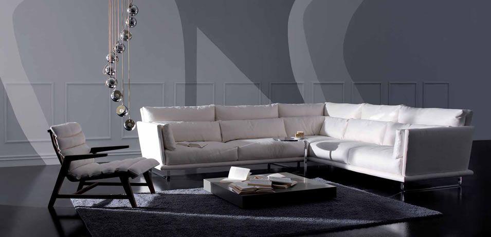 Romantic Style Modern Sectional Sofa   Italian Modern Furniture
