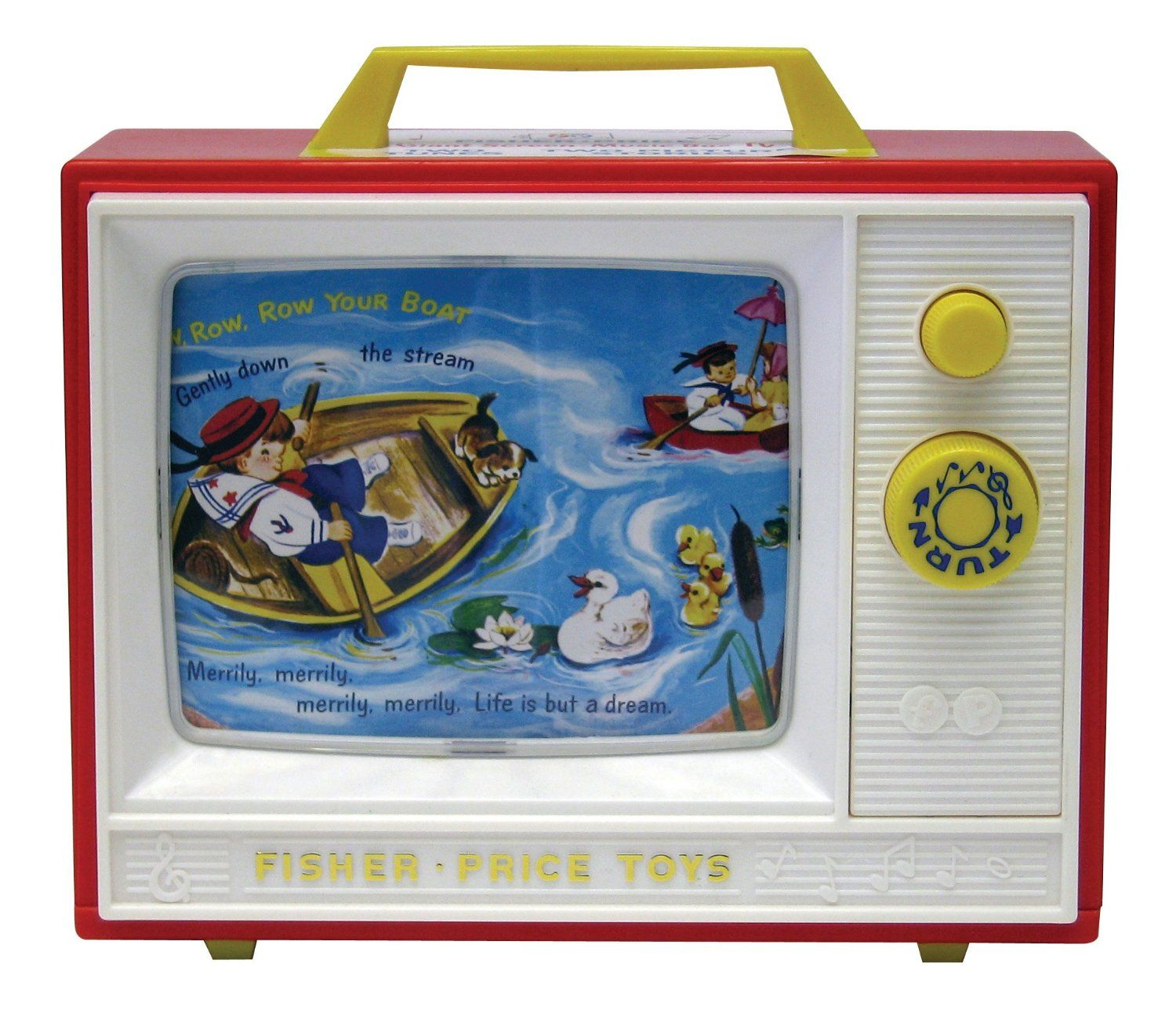 Amazoncom Fisher Price Classic Two Tune Television Toys Games