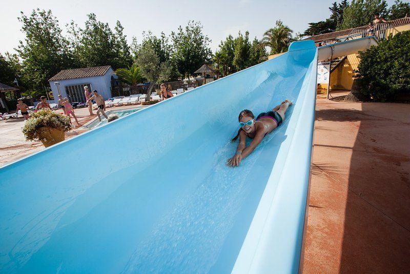 Beach Garden, Marseillan Plage, Languedoc with Canvas Holidays - camping a marseillanplage avec piscine