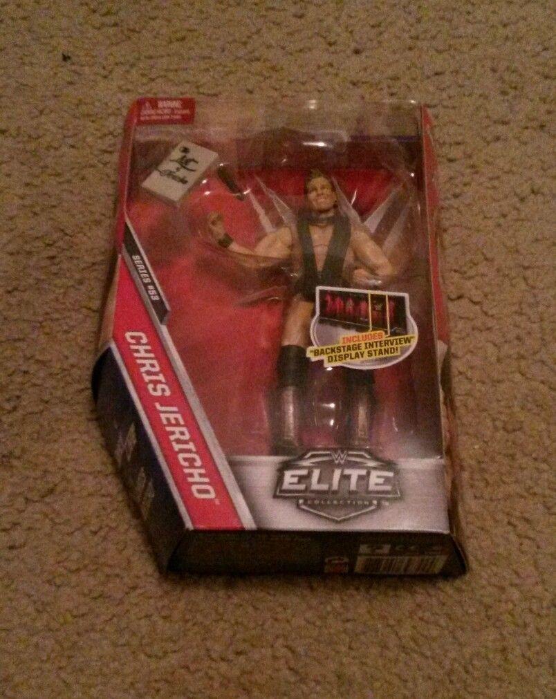 WWE Mattel Chris Jericho Elite Series #53 Figure