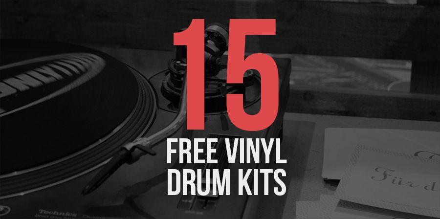 15 Free Vinyl Drum Kits Drum Kits Drums Kit