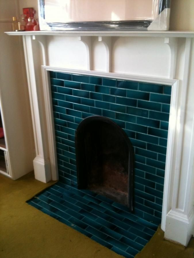 Tiled Fireplace At Destefano Remodeling In North Texas We Desire