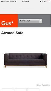 Fantastic Gus Modern Sofa Atwood Couches Futons City Of Toronto Ncnpc Chair Design For Home Ncnpcorg