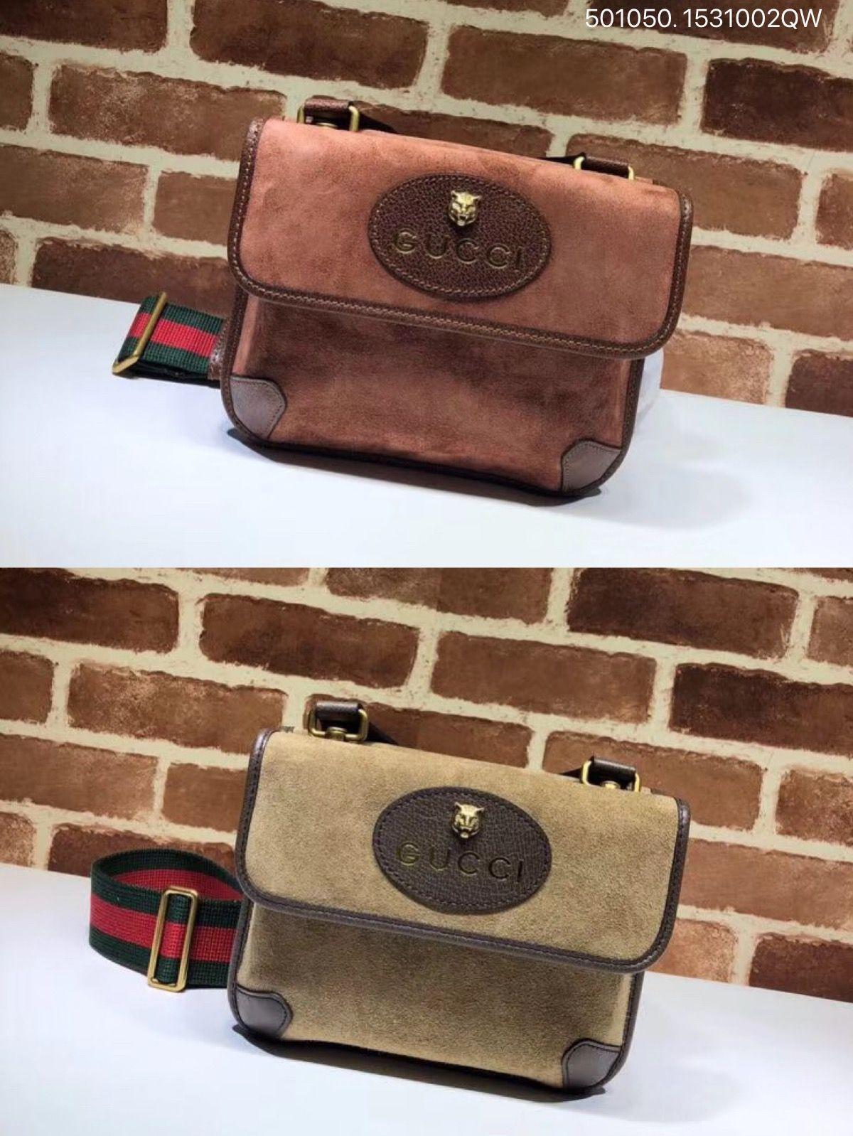 98b7bd0cb Gucci Black Gg Fabric Small Messenger Bag