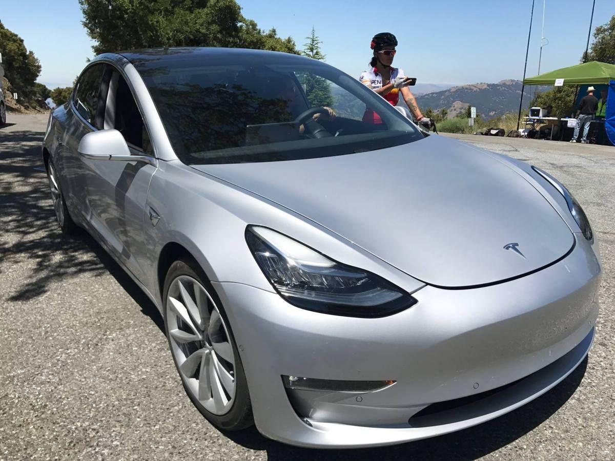 Here Is The Long Awaited Tesla Model 3 Tesla Motors Is Spending A