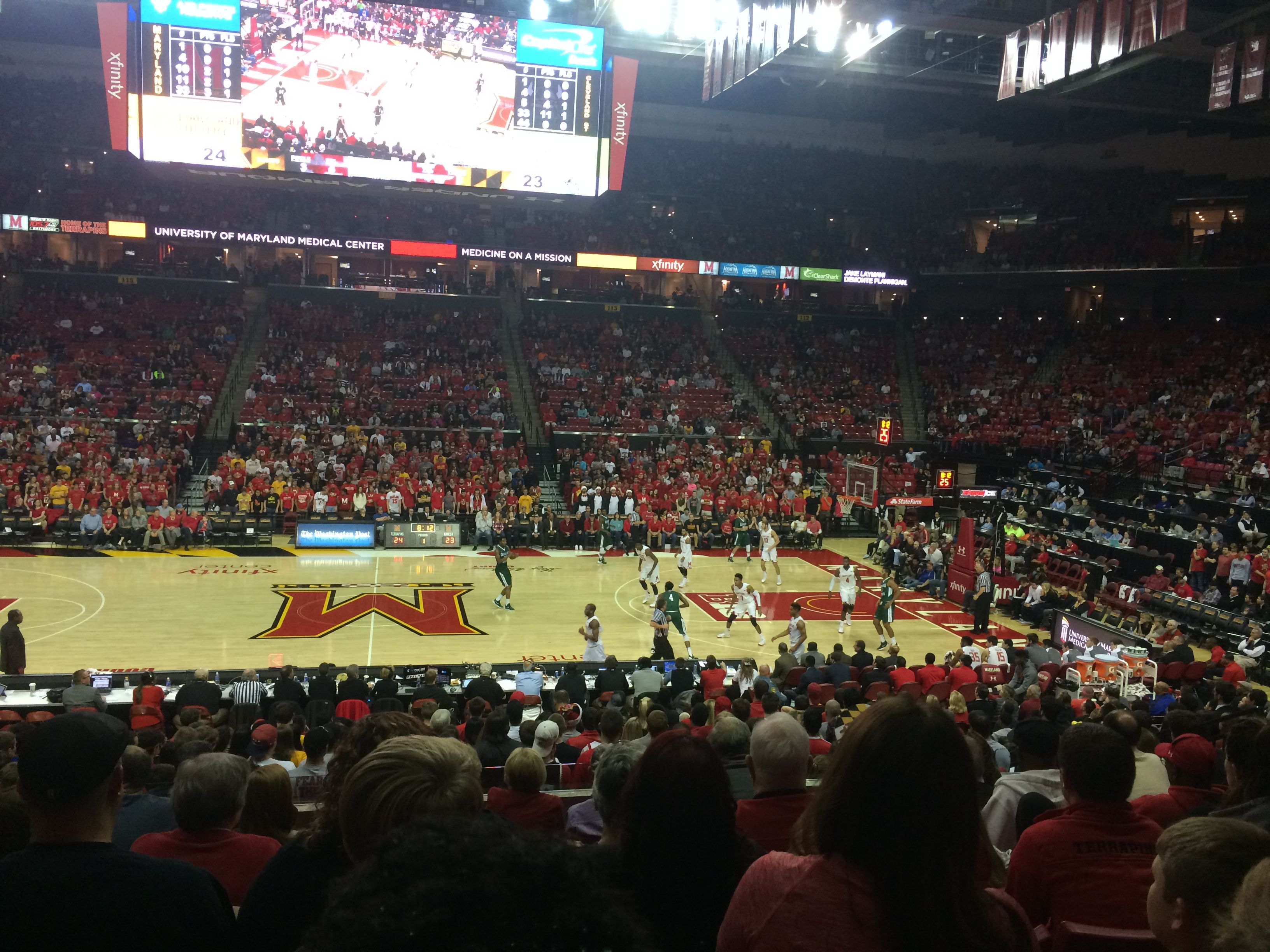 Maryland's Mens Basketball team is 9-1 this season, with a lot of new talent on the team.  If you're a fan of basketball, come to the Xfinity center and support the team as they continue one of their best seasons in recent years.  As a student, you can request tickets for free to nearly all home games if you do so in time.  Sign up if you haven't already!
