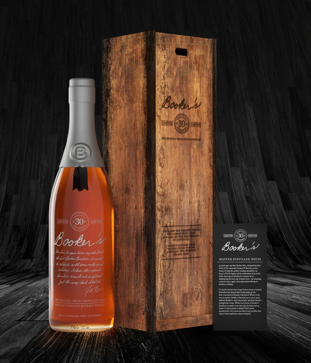 Bookers bourbon celebrates its 30th anniversary bourbon