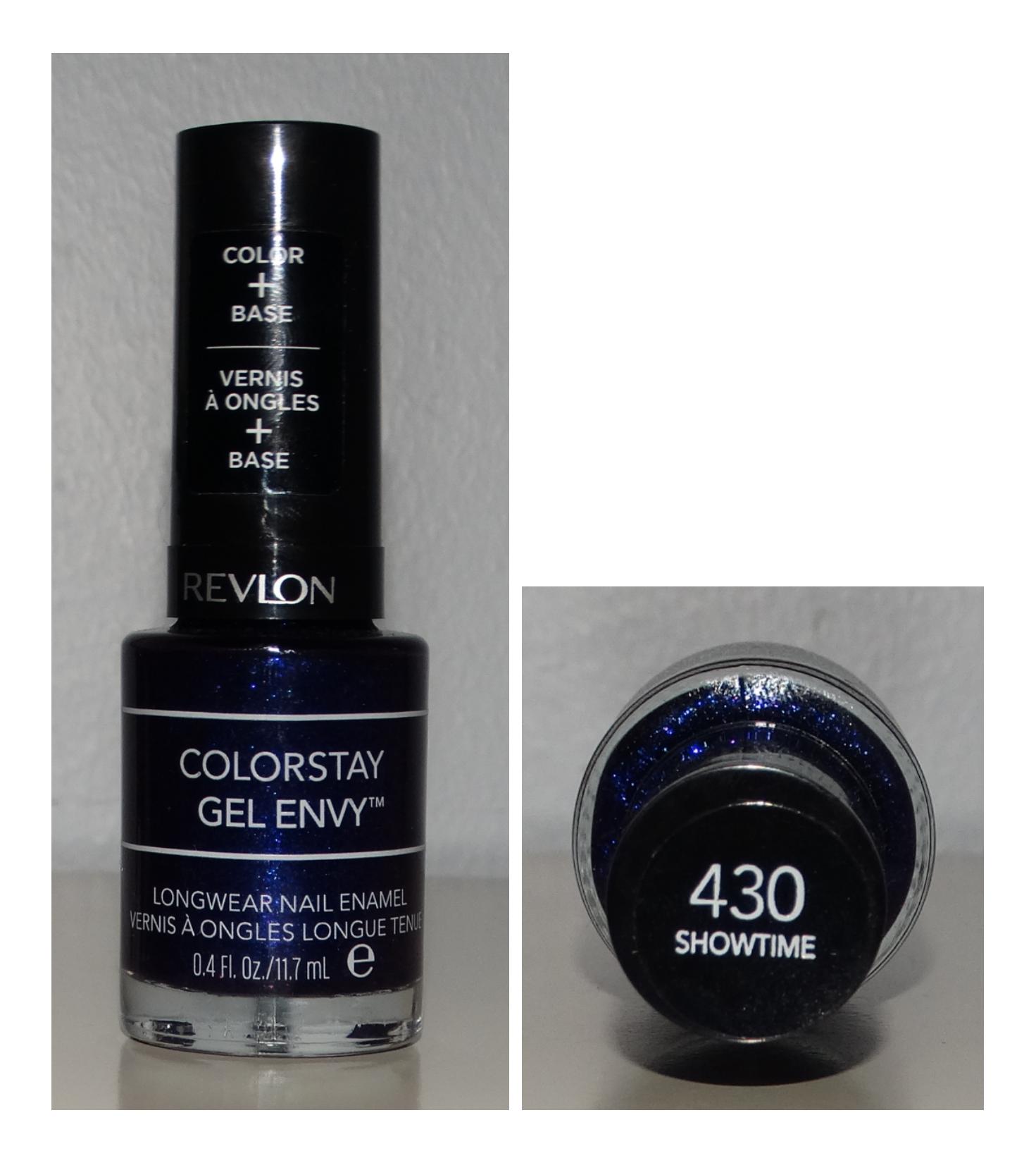 Revlon ColorStay Gel Envy Showtime - Dark Iridescent Purple   Polish ...