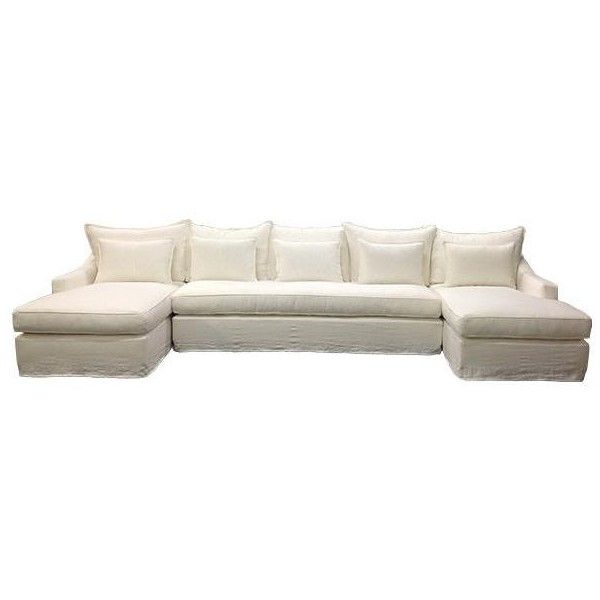 Superieur Darcy Sectional Sofa In Various Colors Design By Moss Studio ($3,500) ❤  Liked On