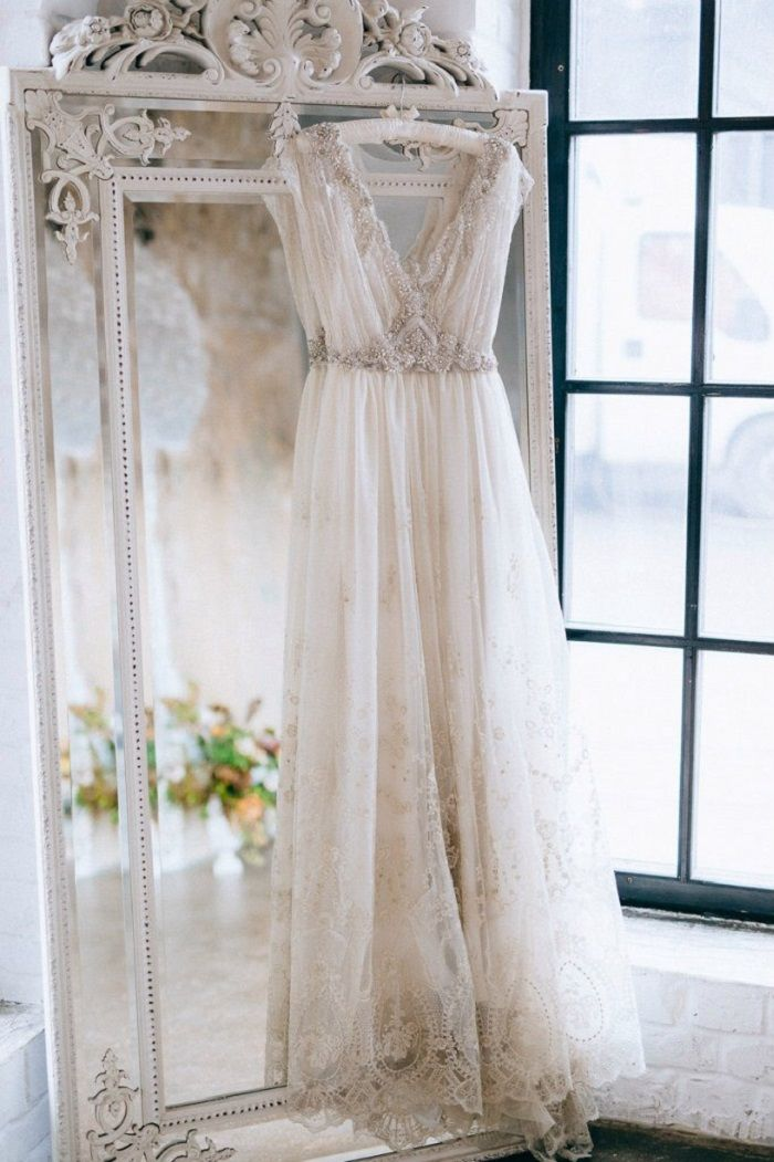 Beautiful custom made sleeveless wedding dress