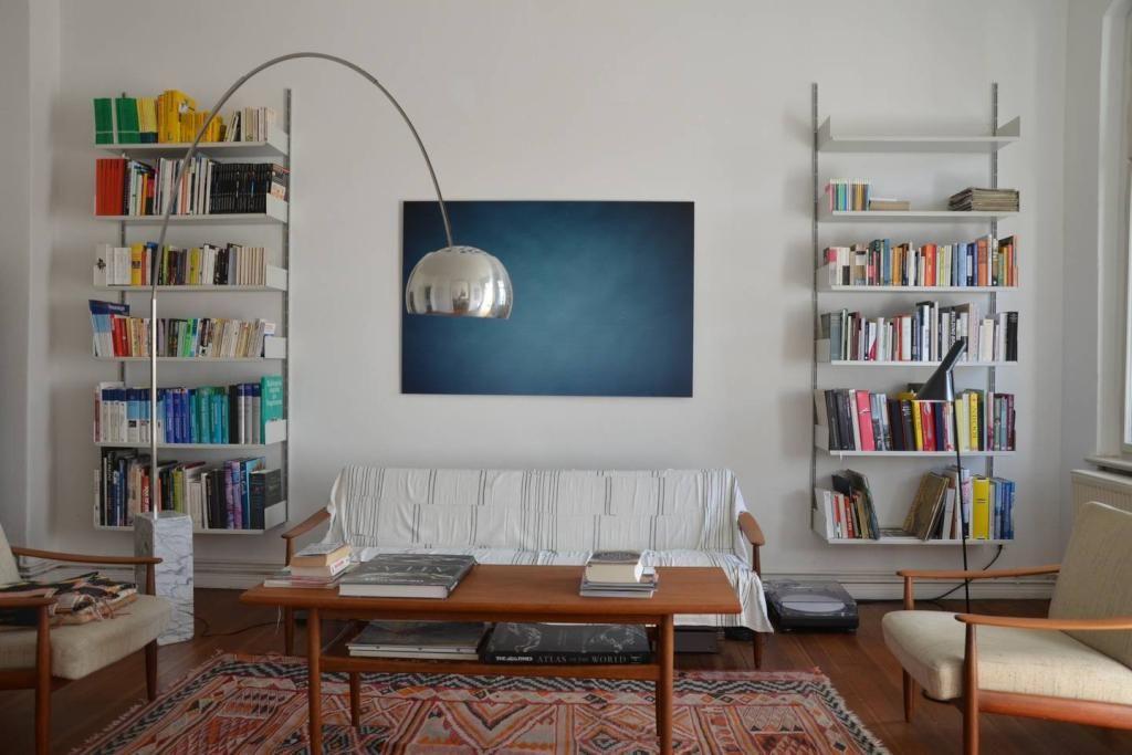 Wohnzimmer Kompletteinrichtung ~ Schön organisierte bücherregale im wohnzimmer wohnzimmer