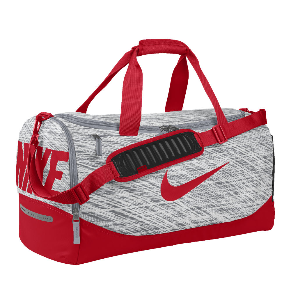 fd33e29ce443 Nike Team Training Max Air iD Duffel Bag (Medium) (Red)