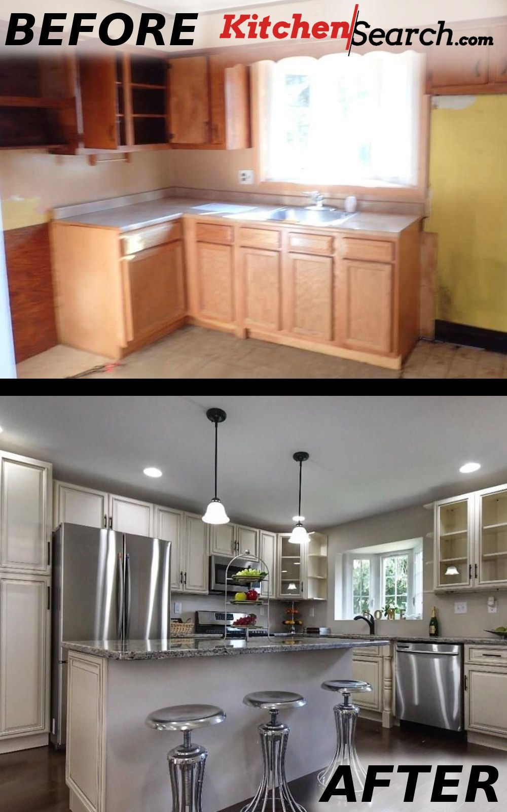 Another Stunning Before After By Kitchensearch Stop Just Dreaming About Your New And Beautiful Kitch Kitchen Best Kitchen Cabinets Kitchen Style