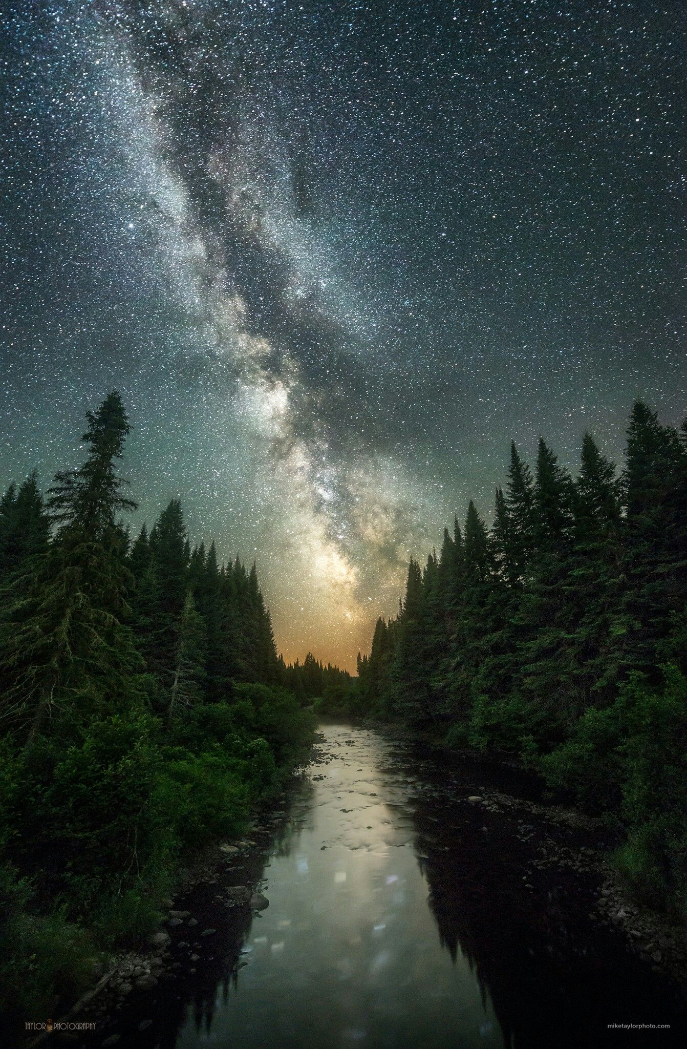 Connecticut River New Hampshire Night Sky Photography Night Landscape Night Skies