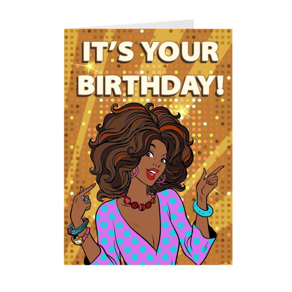 Pin On Black Birthday Cards
