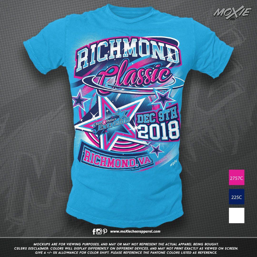 Custom Competition Tshirt Cheer Outfits Custom Cheer Shirts Cheerleading Shirts Designs