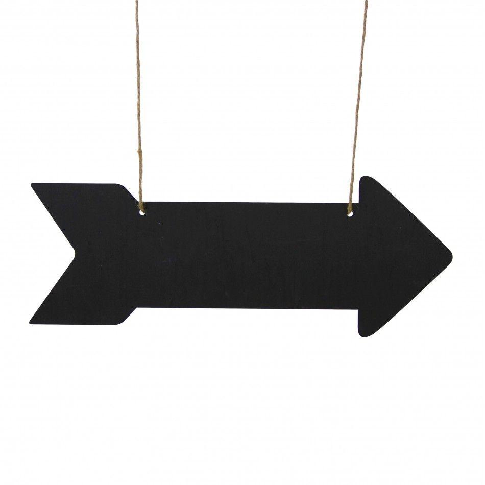 Double-Sided Chalkboard Arrow Sign [Chalkboard Arrow Sign ...