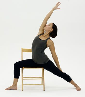 10 yoga poses you can do in a chair  chair yoga chair