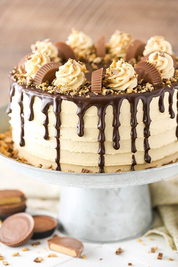 Peanut Butter Chocolate Layer Cake Recipe Salted
