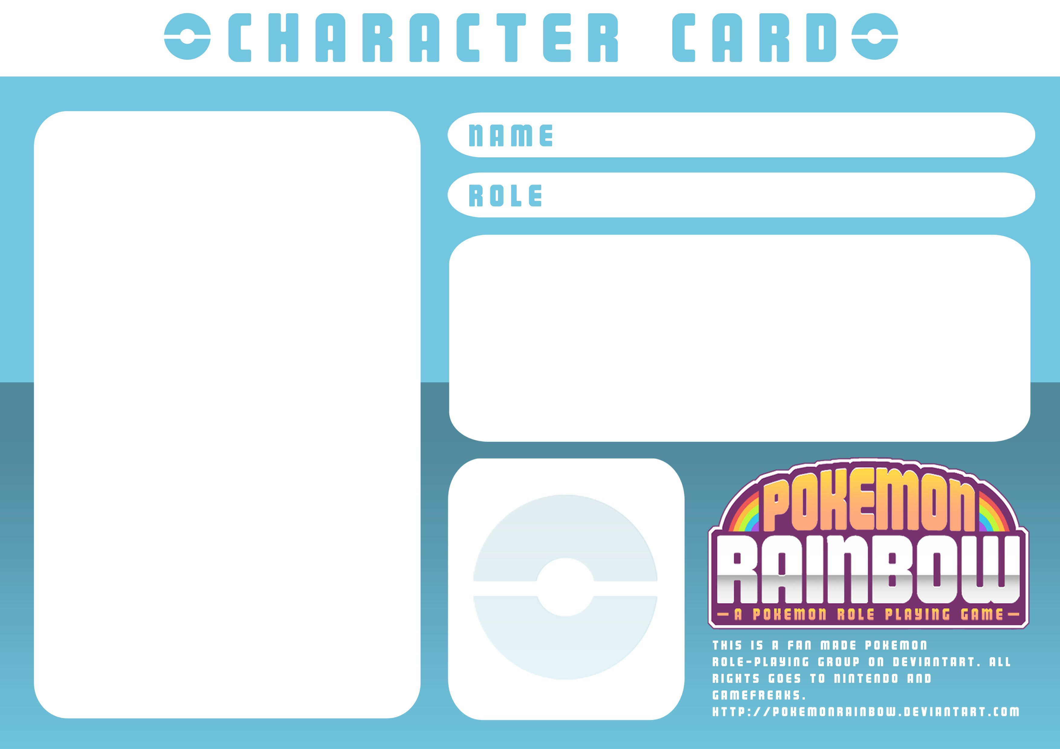 Character Card Templatery Spirit On Deviantart Throughout Pokemon Trainer Card Template Cumed Org Pokemon Trainer Card Pokemon Trainer Report Card Template