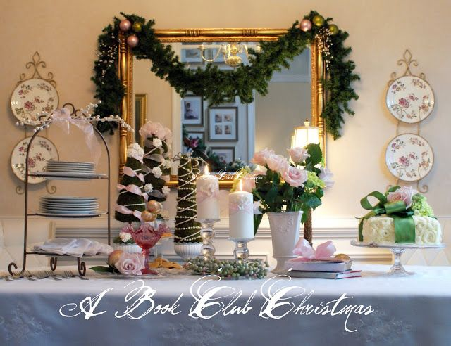 Awesome Book Club Christmas Party Ideas Part - 11: A Little Loveliness: A Book Club Christmas