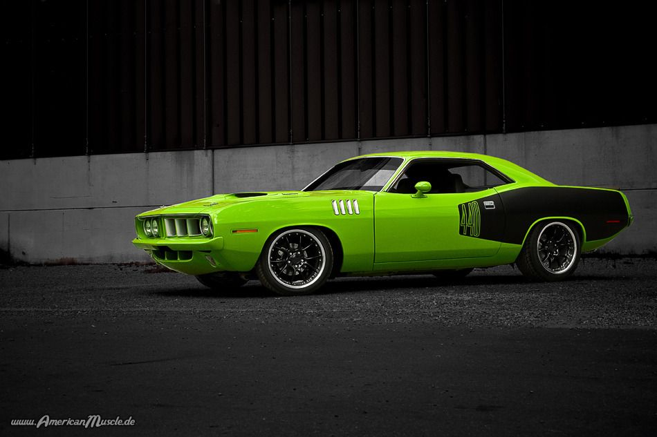 F T W Plymouth Cuda Hot Rods Cars Muscle Muscle Cars
