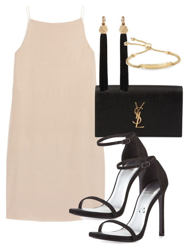 """""""Untitled #316"""" by sineadelhardt ❤ liked on Polyvore featuring T By Alexander Wang, Yves Saint Laurent, Stuart Weitzman and Monica Vinader"""