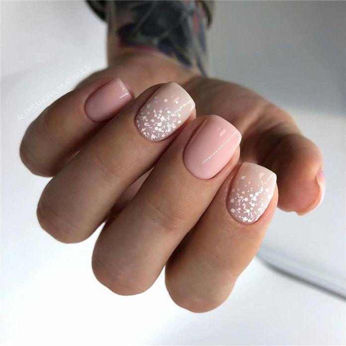 100 Pretty Winter Nail Design Ideas 2019 Winter Nail Designs Girls Nail Designs Baby Girl Nails