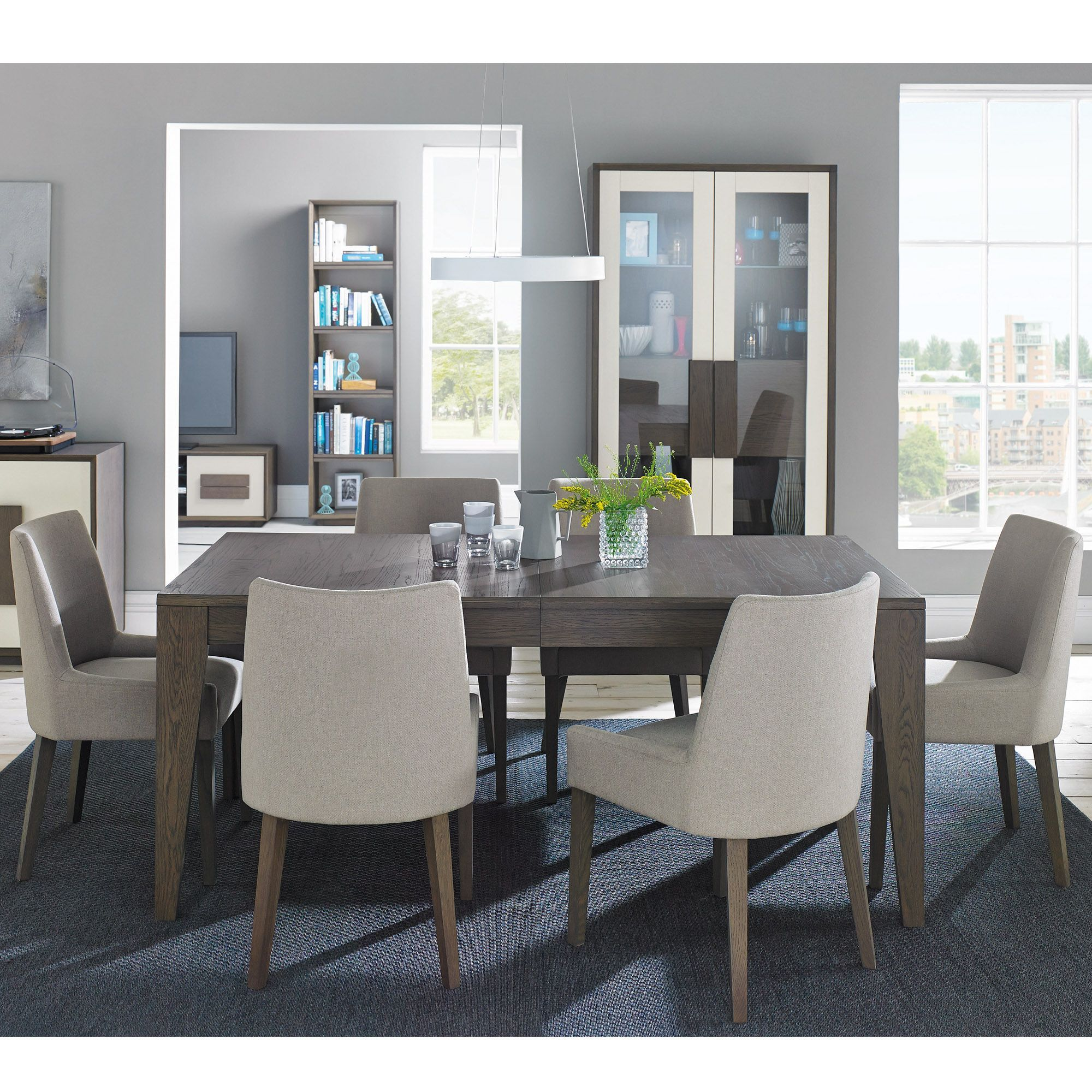 Cookes Collection Urban Weathered Oak 68 Extending Dining Table Gorgeous Extended Dining Room Tables Design Inspiration