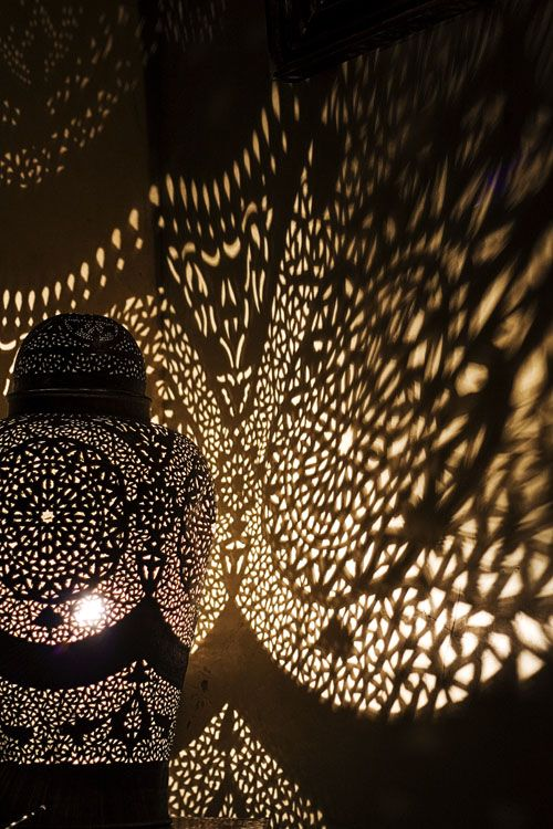 Moroccan Light I Want A Lamp That Will Put Pattern On The Wall And Or Ceiling