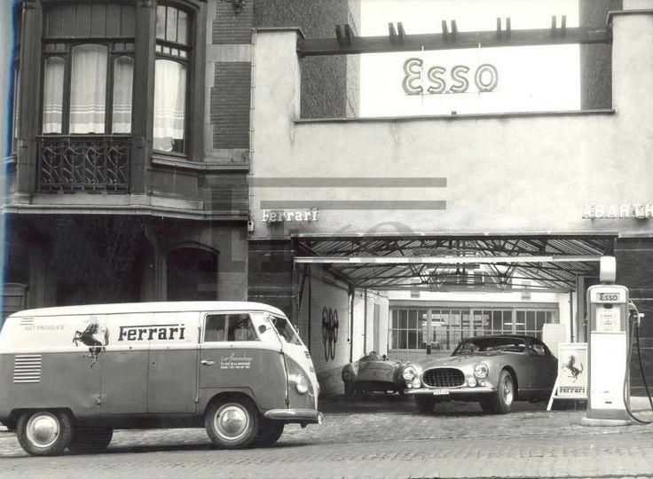 Vw Typ 2 Ferrari Ferrari Alte Tankstellen Vw Bus