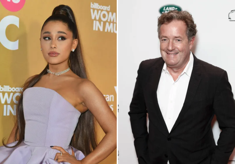 Ariana Grande utterly destroyed Piers Morgan on Twitter