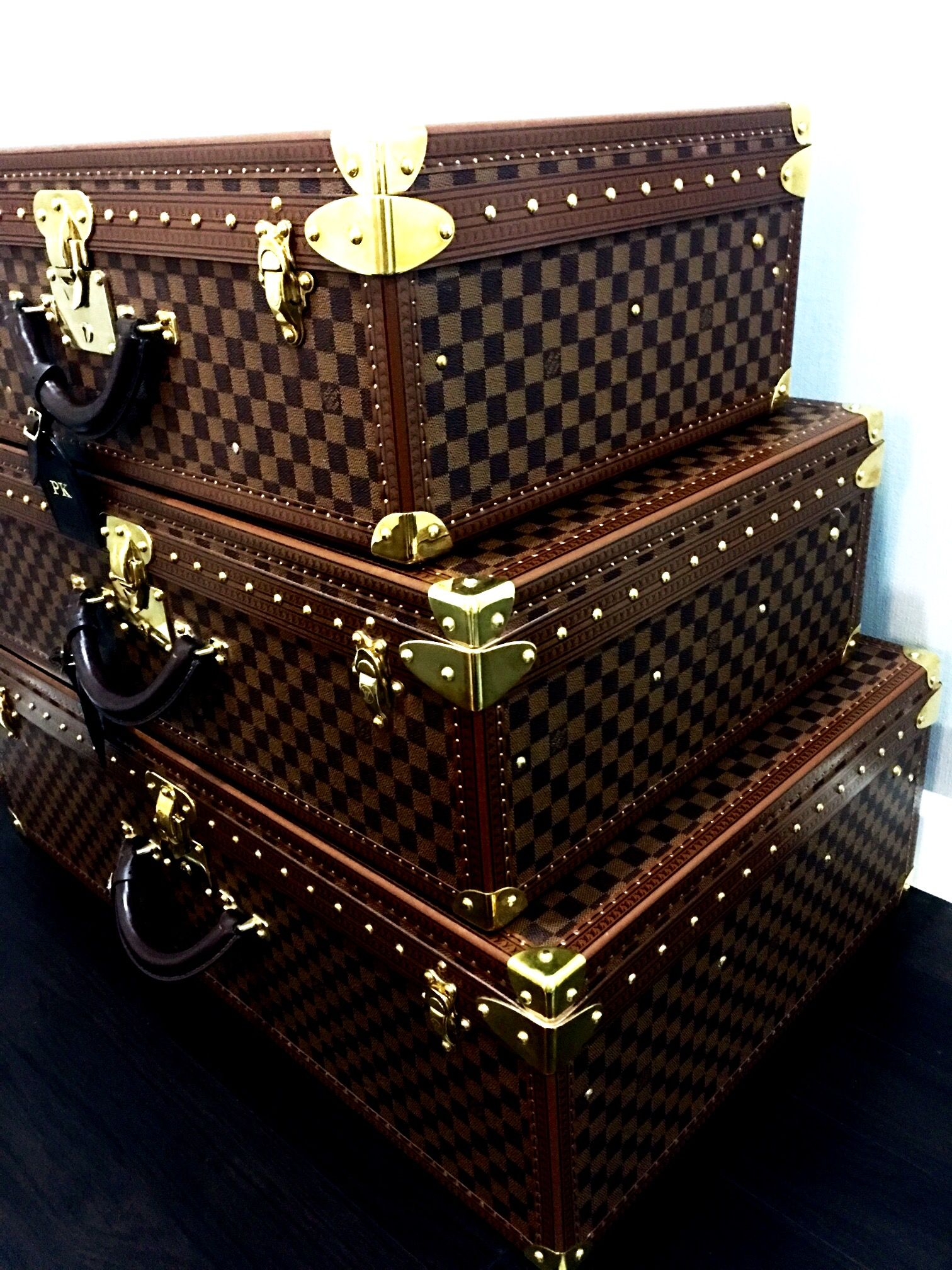 575589bb941 Louis Vuitton Hardside luggage. Alzer 60.70.80 Damier. KOS home ...
