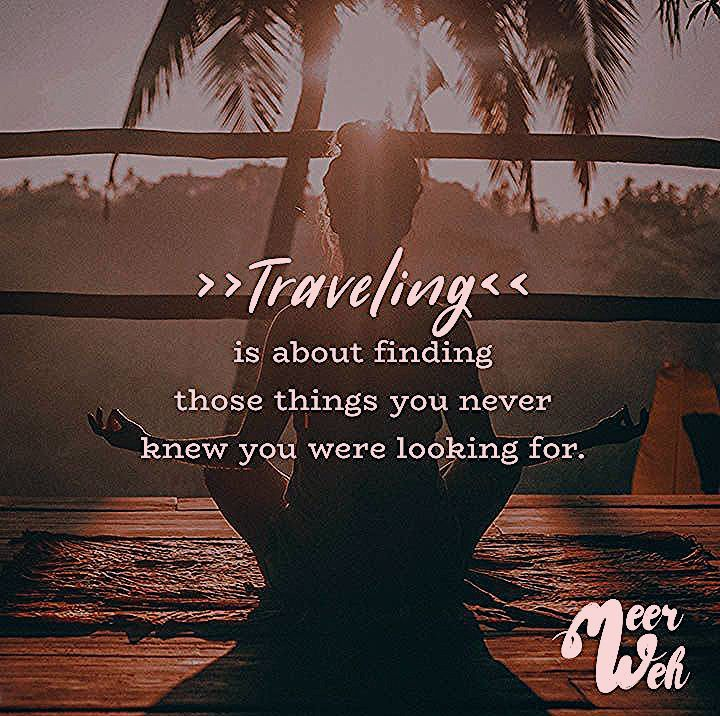 Photo of Traveling is about finding those things you never knew you were looking for. – VISUAL STATEMENTS®
