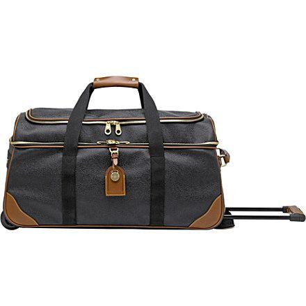 d4623fd1aac MULBERRY Scotchgrain duffel bag (Black-cognac | *Wish List* | Bags ...