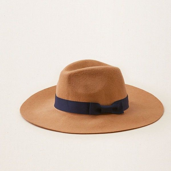 19a53ae549a2d Aerie Panama Hat ($25) ❤ liked on Polyvore featuring accessories ...