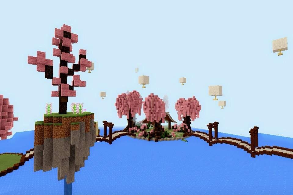 Would Nt It Be Nice If Theres A Cherry Blossom Park In Minecraft So I Did One Yayayayay Because I Li Minecraft Minecraft Blueprints Cute Minecraft Houses