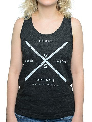 To Write Love on Her Arms Official Online Store - Versus Tank XS probably because they are unisex?