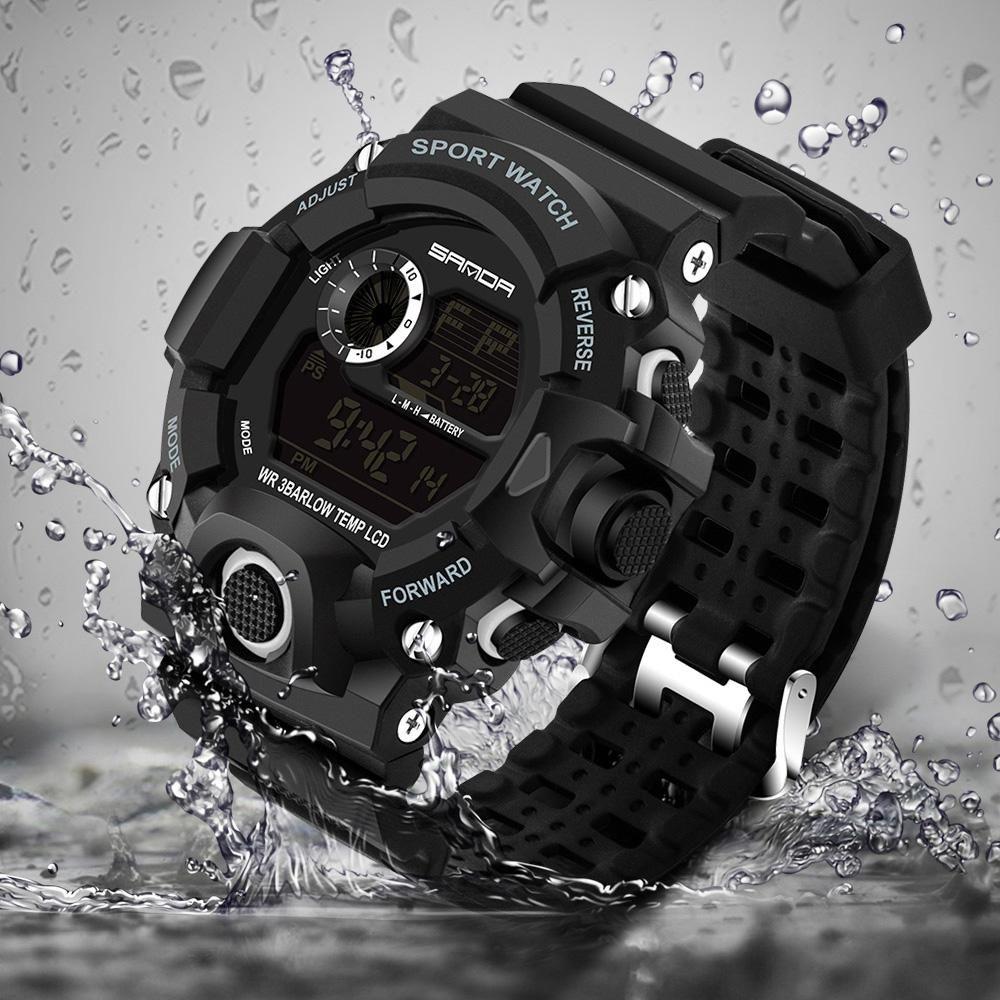 3159e12110c 2017 Military Electronic Wrist Watch Sport Top Brand Sanda Digital Wristwatches  Men G Style Shock Watch Waterproof Shockproof