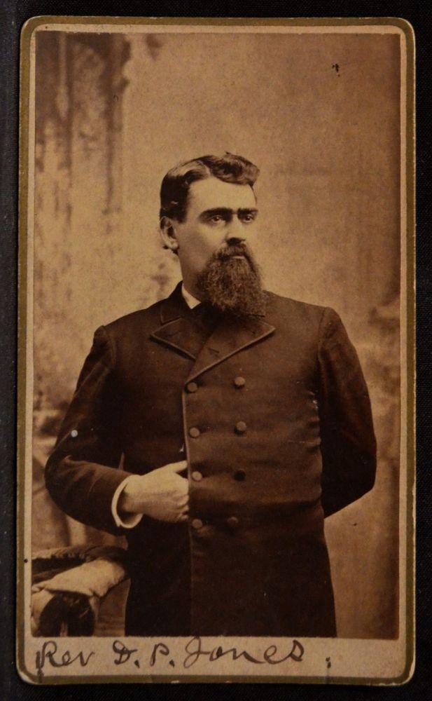 The Reverend D. P. Jones of Blossburg Pennsylvania