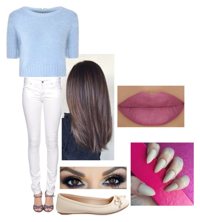 """""""Untitled #234"""" by biancawheeler ❤ liked on Polyvore featuring Citizen of Humanity, Aéropostale and Glamorous"""
