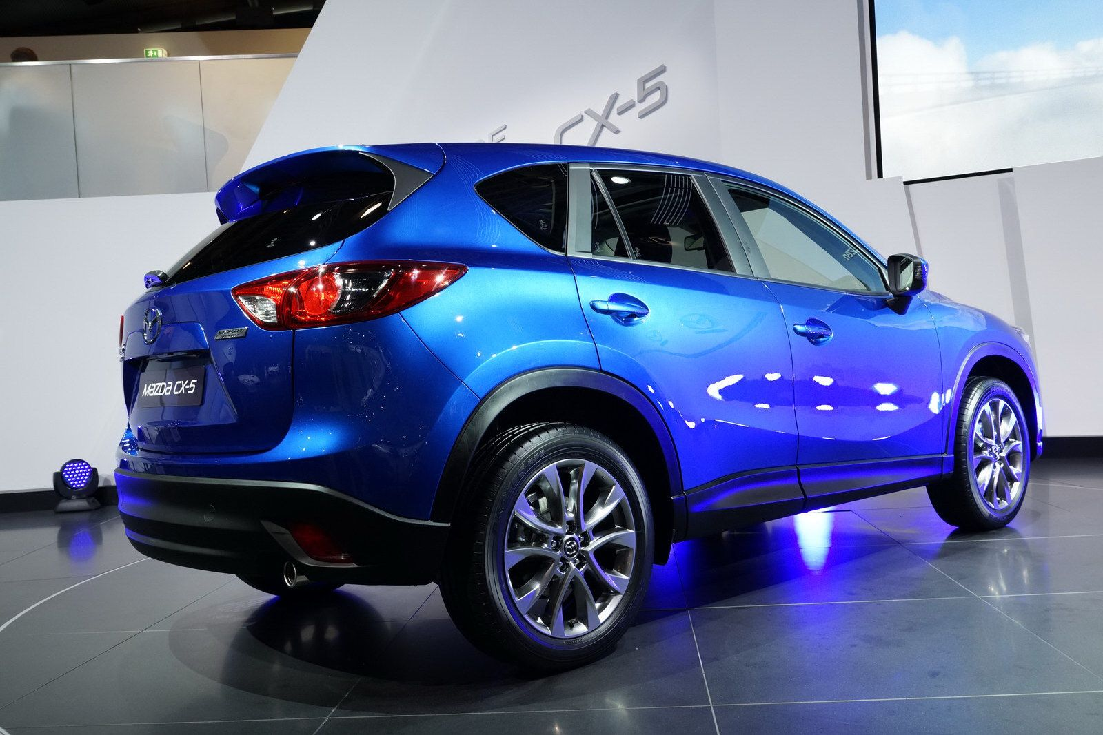 2012 Mazda CX5 Back View Cars Wallpapers