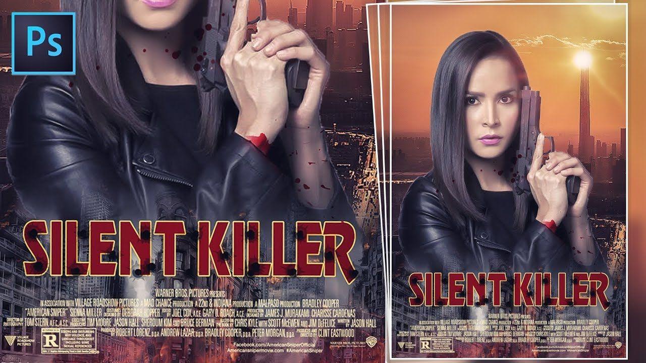 Photoshop Tutorial : Action Movie Poster Design | Photoshop