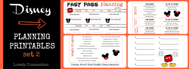 disney planning binder with printables disney disney planning