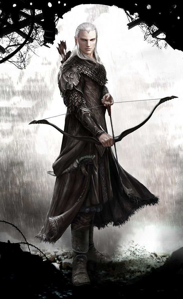 Elven Archer reloaded by Vynthallas on deviantART:
