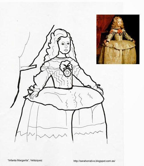 Infanta Margarita, Velázquez … | goya in 2018…