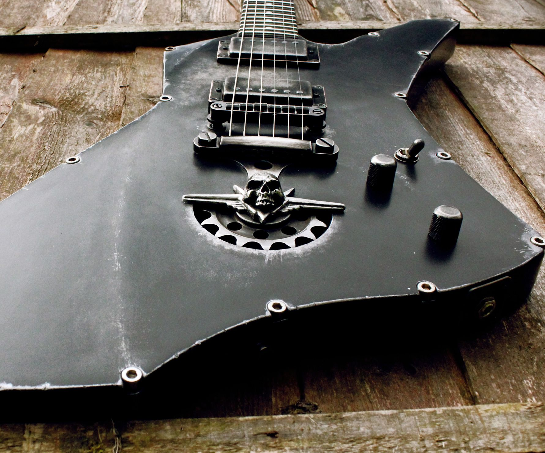 ESP Snakebyte Steel Top Hutchinson Guitar Concepts for James Hetfield