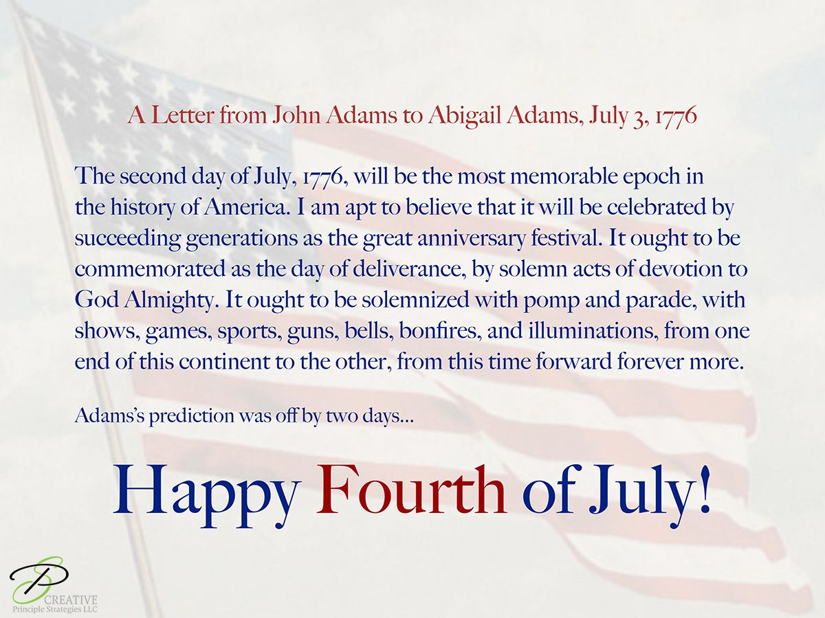 Abigail Adams Quotes A Letter From John Adams To Abigail Adams July 31776 Quotes