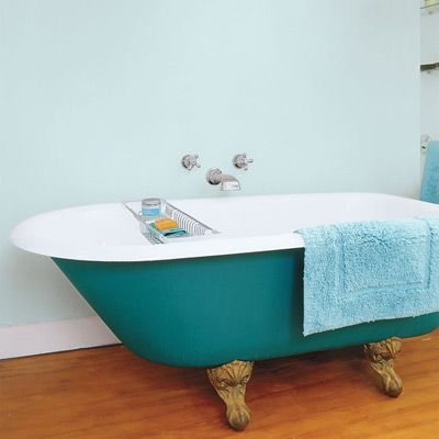 88 Quick and Easy Decorative Upgrades. Painted BathtubCast Iron TubVintage  BathroomsClawfoot ...
